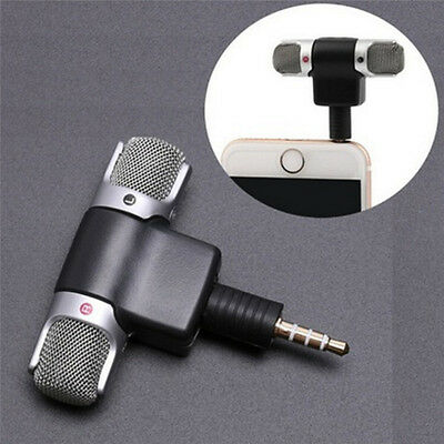 Mini microfono stereo M & C Mic Audio per notebook PC portatile Talk 3.5mm PQ