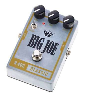 Big Joe R-402 Classic Tube Overdrive Pedal like NEW!
