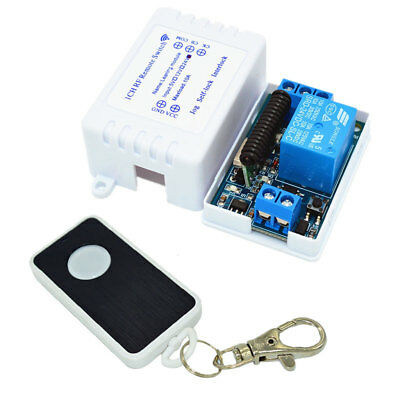 433Mhz Relay Module Wireless Remote Control Switch Transmitter&Receiver RF