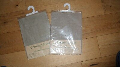 "Unused  In Packet ""country Linen""  100% Fawn Craft Fabric"