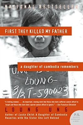 Ung, Loung-First They Killed My Father BOOK NEW