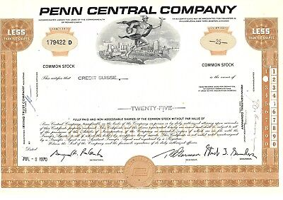 Penn Central Company - Credit Suisse