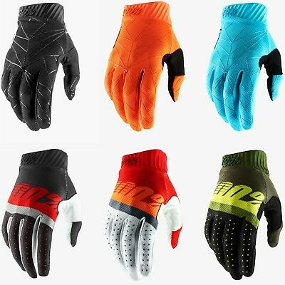 2019 100% Ridefit Motocross Mx Mtb Bike Gloves