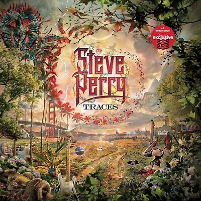 Steve Perry Traces cd exclusive 5 bonus tracks Target journey global shipping