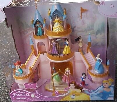 Disney Princesses Lighted Staircase Castle - NIB
