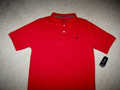 Nautica Boy's Polo Shirt XL 18-20 NWT $29.50 Retail