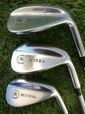 Golf wedges MIURA forged 51/55/59