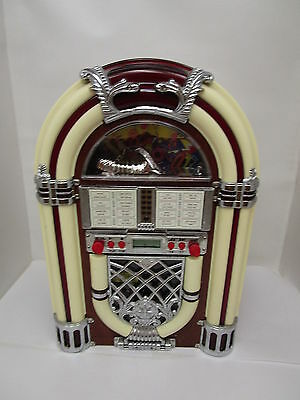 Juke Box Style Am/FM/CD Player Vintage Unique Classic Collectable for Office
