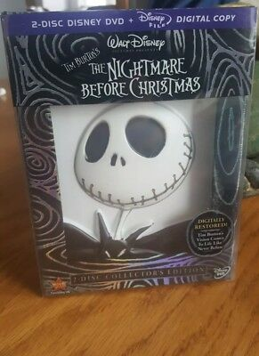 Disney Tim Burton's Nightmare Before Christmas 2 Disc DVD Collector Edition 2008