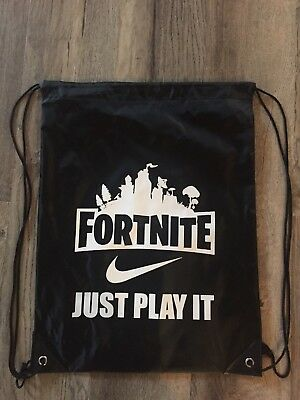 Fortnite drawstring backpack, fortnite cinch bag, fortnite gym bag, fortnite bag