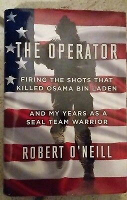 ROBERT O'NEILL THE Operator Hardcover Book Signed