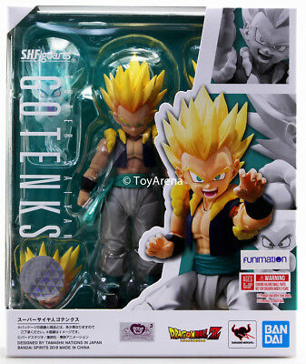 S.H. Figuarts Dragon Ball Z Super Saiyan Gotenks Action Figure USA IN STOCK