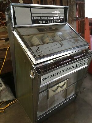 1963 Wurlitzer 2700 and 2710 Jukebox Package Set Includes Extra Parts and Manual
