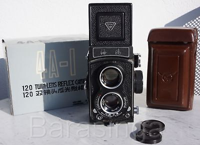 Seagull 4A-I TLR in ovp mit Tasche