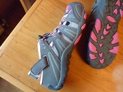 Girls shoes size 12 NEW very good quality Peter Storm easy closer