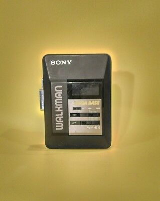 Sony WM-B15 Walkman 1980'S 90'S Tape cassette player- retro vintage
