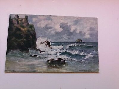 Vintage Postcard , Tantallon Castle From The South, Scotland