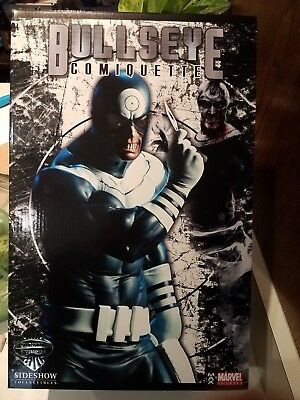 Sideshow Collectibles Bullseye Comiquette Exclusive Marvel Sample New #243/400