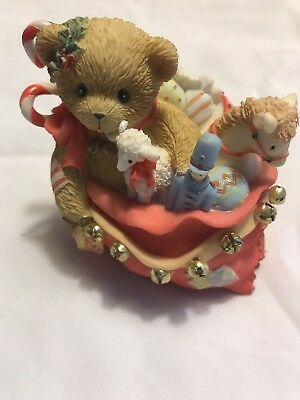 Cherished Teddies Polly #4002840 - Let There Always Be A Jingle In Your Heart