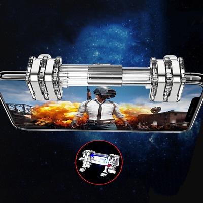 K9 Metal Mobile Game Gamepad Trigger L1R1 For PUBG Controller 4-7'' Cell Phone
