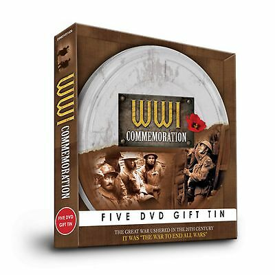 World War I In Color (5 DVD Box Set) [Region 2] (SG6497)