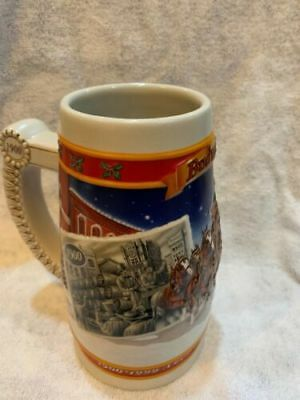 1999 Budweiser Holiday Beer Stein- A Century of Traditions  (CS389)  (BS #5)