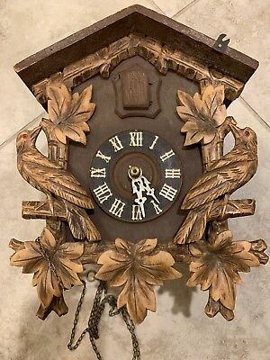 made in germany regula cuckoo clock for parts