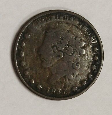 "1837 Hard Times Original Token ""Millions for Defence Not One Cent for Tribute"""