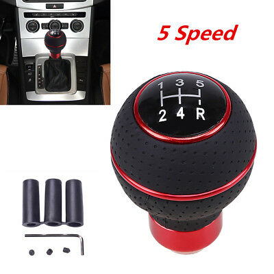 Universal Car Auto Gear Manual Gear Shift Shifter Knob Shifter Level 5 Speed New