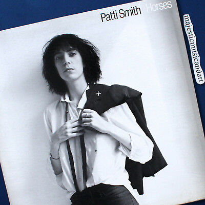 Original 1975 Promo Patti Smith Horses Vinyl Lp White Horses Robert Mapplethorpe