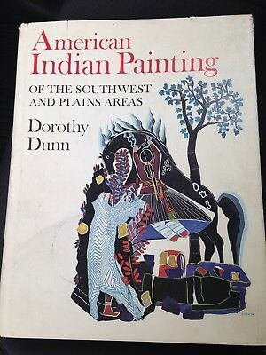 Book AMERICAN INDIAN PAINTING OF THE SOUTHWEST AND PLAINS *Dorothy Dunn  1968
