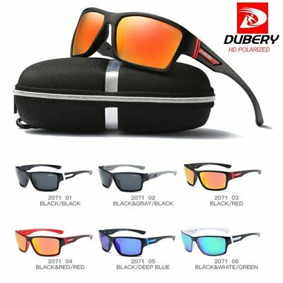 Brand New Polarized Mens Sunglasses Polarised New Style Square Frame Glasses
