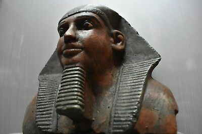 ANCIENT EGYPT ANTIQUE  EGYPTIAN sandstone wall mask Ramesses II  (300-1500 BC)