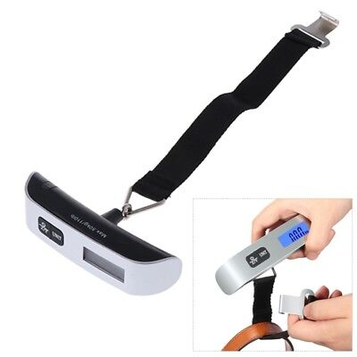 Portable Balance LCD Electronic Digital Hook Hanging Luggage Scale Weight 50kg