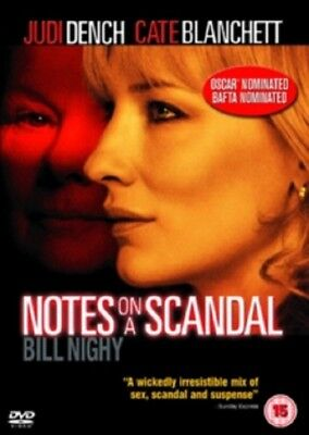 Notes On a Scandal (Judi Dench, Cate Blanchett) New Region 2 DVD