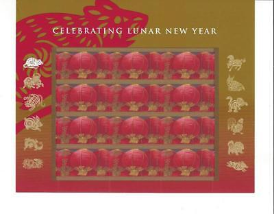 Us Scott 4221 Pane Of 12 Lunar New Year Stamps 41 Cent Mnh