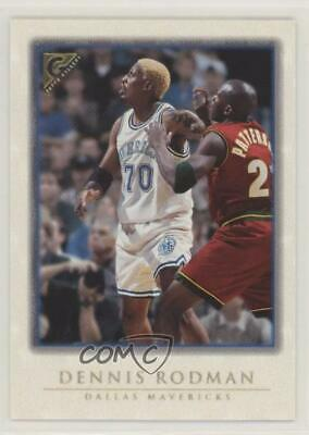 1999-00 Topps Gallery  37 Dennis Rodman Dallas Mavericks Basketball Card bf9f724e4