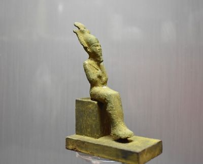 ANCIENT EGYPT ANTIQUE Egyptian Bronze Osiris statue (1500–300 BC