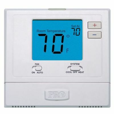 Elect Digital Wall Thermostat PRO1 T701 Non-Programmable-Temperature Controller