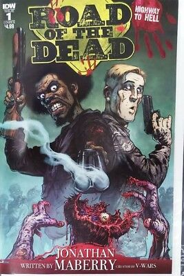 Road of the Dead #1- HARD TO FIND - 1st PRINT ALREADY SOLD OUT - Free Shipping