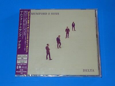 2018 JAPAN MUMFORD & SONS DELTA CD w/BONUS TRACK FOR JAPAN ONLY