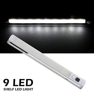 Kitchen Cupboard Under Cabinet Shelf Counter LED Light Bar Lighting Lamp White