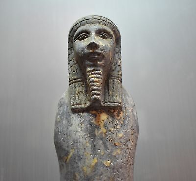 ANCIENT EGYPT ANTIQUE EGYPTIAN LARGE USHABTI of king 31 cm 1500–300 BC)