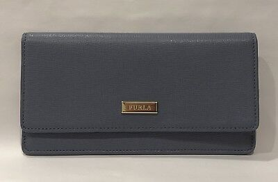 NWT FURLA Slim Dolomia Leather Envelope Wallet