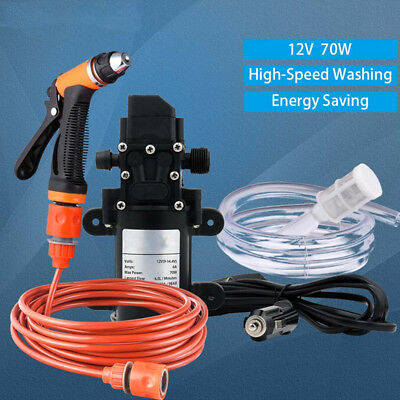 Car Wash 12V Washer Gun Pump High Pressure Cleaner Electric Cleaning Auto Device