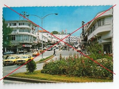 carte postale Philippines Session road Baguio City - voitures taxis vintage