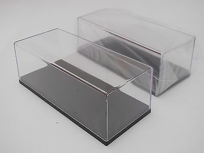 1/43 Scale Acrylic Display Case X 2