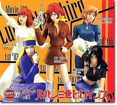 Bandai Lupin The Third Desktop Mini Figure Collection 2 Fujiko Mine