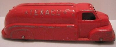 Old 1949 Advertising Texaco Oil Tanker Truck by Tootsietoy