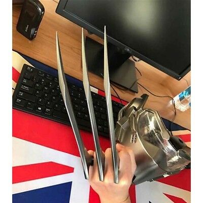 Pair of X-Men Wolverine Claws Logan Paws Cosplay Props ABS Plastic New Version